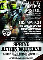 Spring Action Weekend - 2014 @ NSC, Bisley | United Kingdom