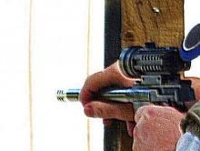 pistol-grip