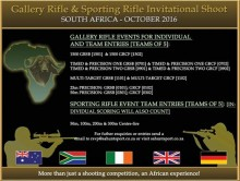 Gallery Rifle & Sporting Rifle Open Invitational @ Gallery Rifle & Sporting Rifle Open Invitational | South Africa