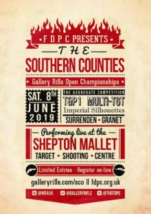 The 2019 Southern Counties Gallery Rifle Shorts Competition @ Shepton Mallet Target Shooting Centre | Shepton Mallet | England | United Kingdom